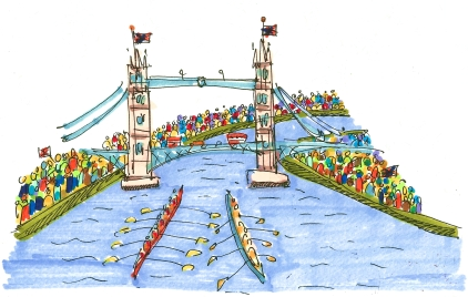 m wood thames regatta london