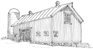 m wood country barn