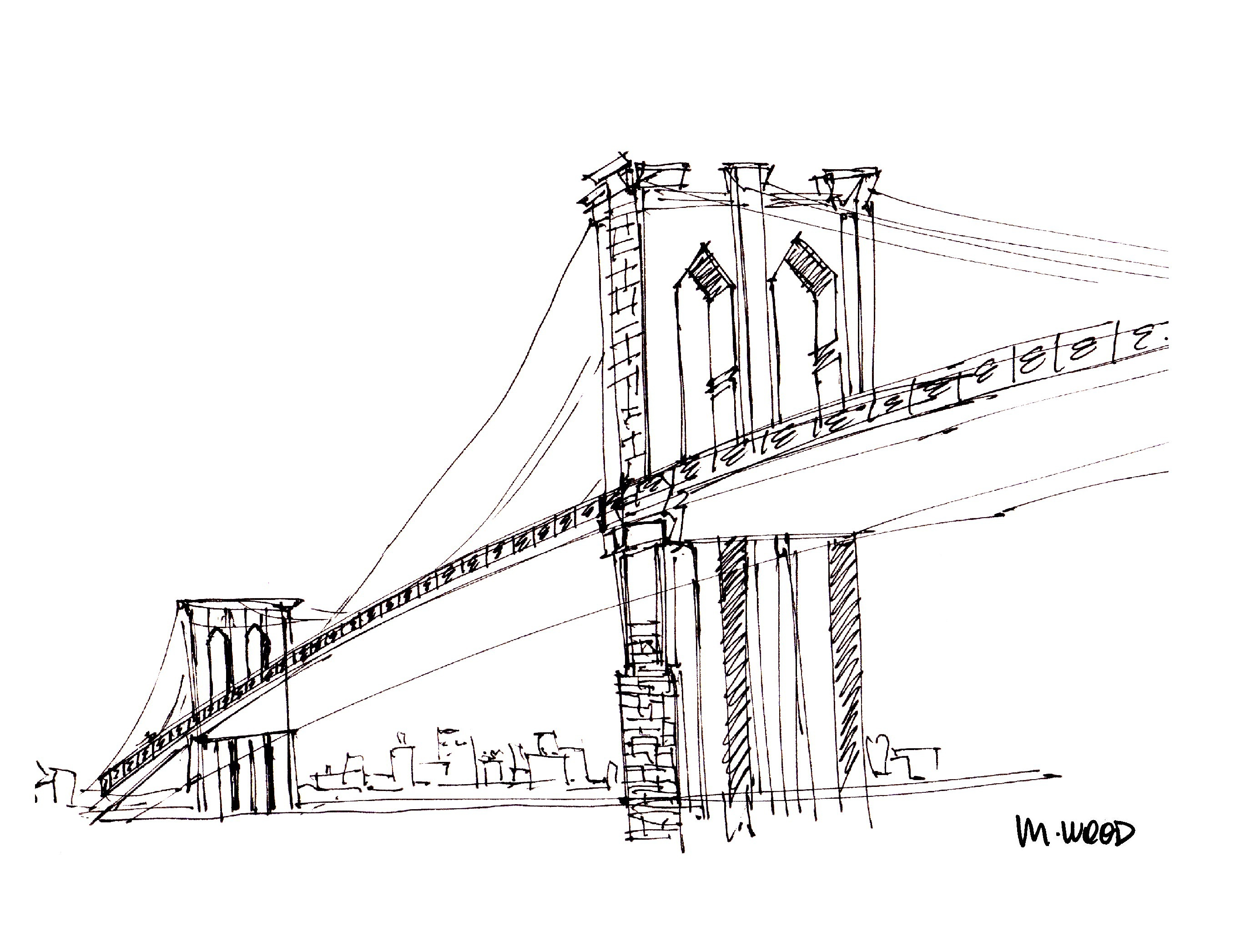 the brooklyn bridge aol image search results brooklyn bridge coloring page Washington Bridge Coloring Page