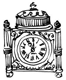 m wood bw chicago marshall fields clock