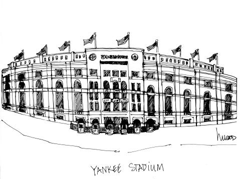Yankee Stadium @mwoodpen