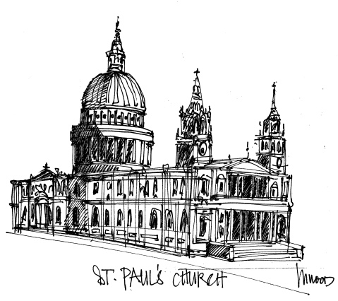 St. Paul's Cathedral @mwoodpen