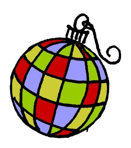 colorblock ornament @mwoodpen