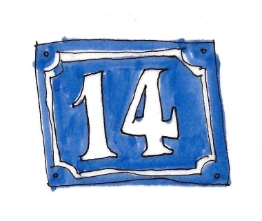 citysketch paris house number