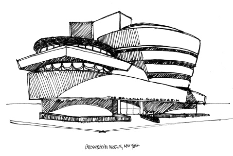 Guggenheim Museum @mwoodpen