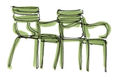 paris jardin des tuileries chairs