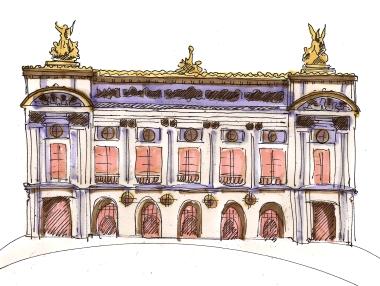 paris opera house color