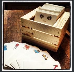 100 cards & envs per crate