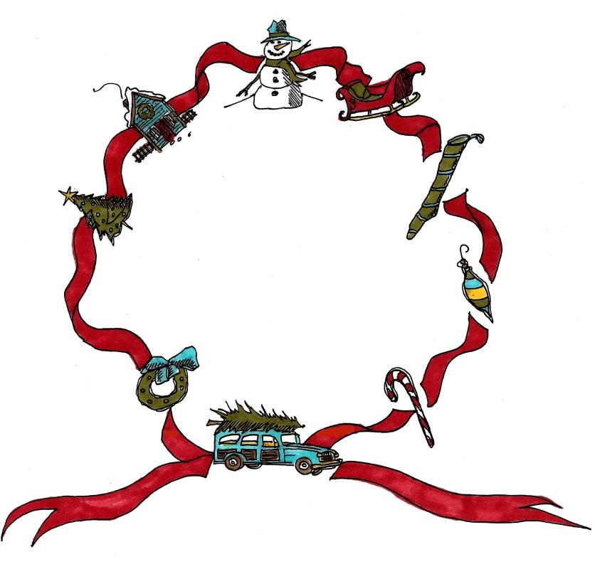 merry wreath, m wood