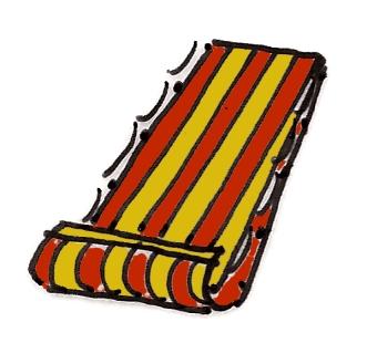 cabana stripe toboggan @mwoodpen