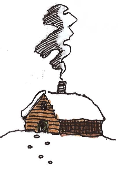 cozy cabin @mwoodpen
