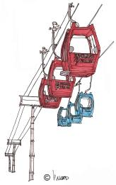 gondola, m wood