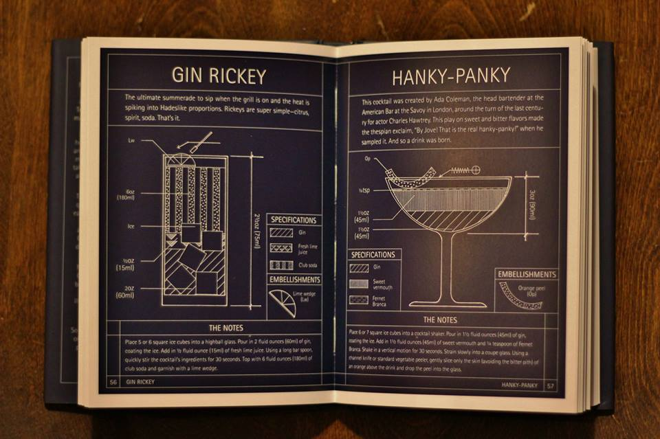 Gin Rickey & Hanky-Panky, photographed by Tommie Ouverson