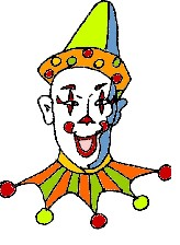 Retro Clown @mwoodpen