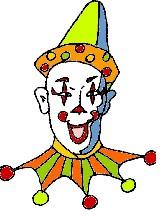 Retro Clown @mwoodpen