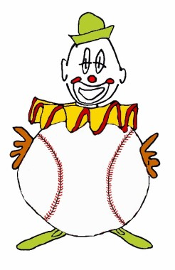 baseball clown