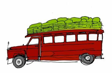 Jamaican Bus @mwoodpen