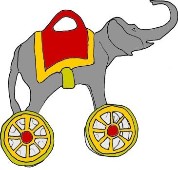 Elephant Toy @mwoodpen