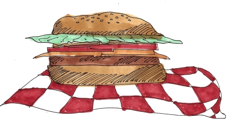 citysketch nyc food -2