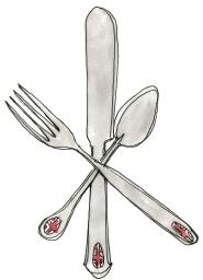 london food flatware