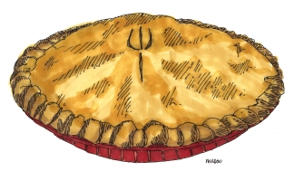 m wood apple pie