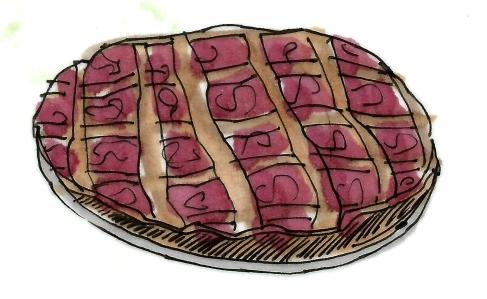 m wood cherry pie