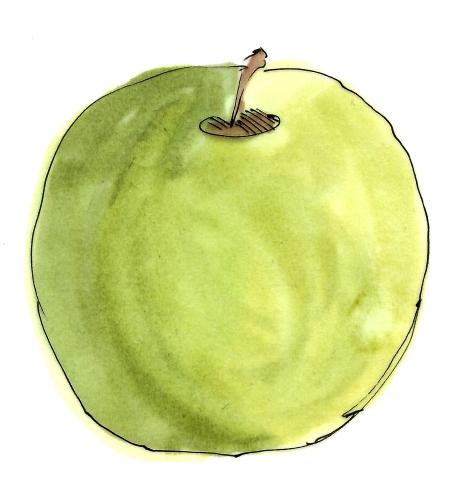 m wood green apple