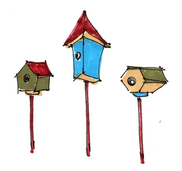 Birdhouses @mwoodpen