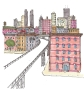 citysketch nyc high line color
