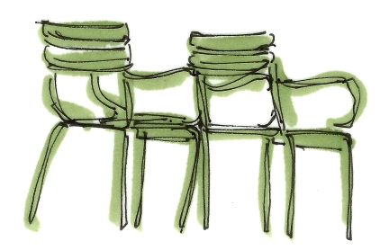 m wood jardin des tuileries chairs