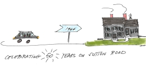 50 years on sutton road