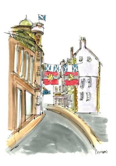 Scotland Fife Bunting