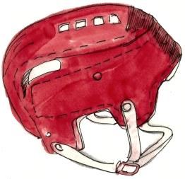 canada hockey helmet