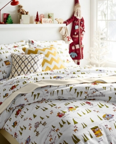 Garnet Hill North Pole Cozy Bed