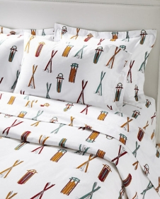 Garnet Hill Ski Day Bedding