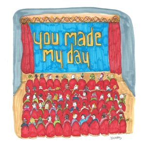 You Made My Day Cartoon 12614