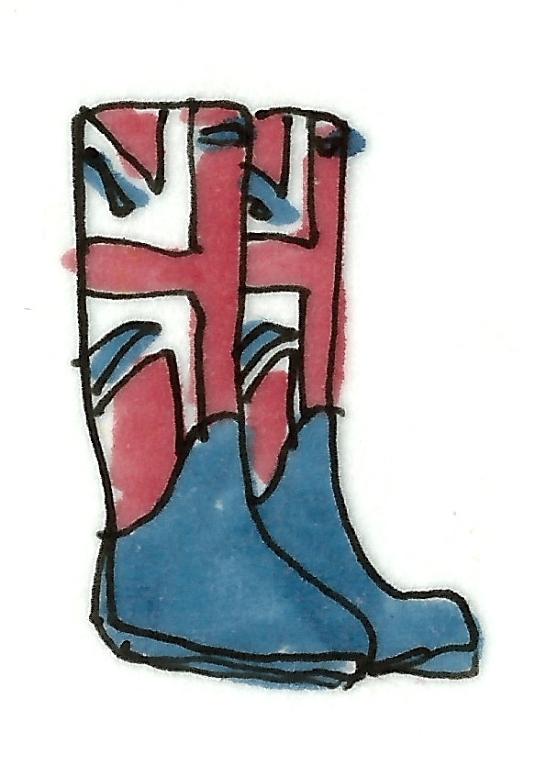 Hunter Boots in British Glory