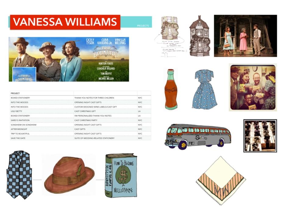 M Wood Portfolio of Vanessa Williams Projects