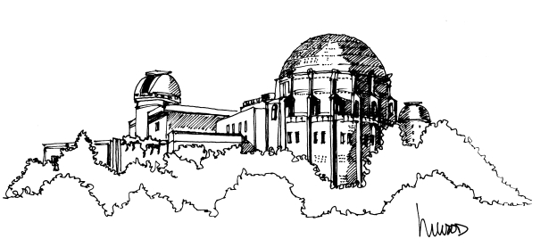 Griffith Observatory @mwoodpen