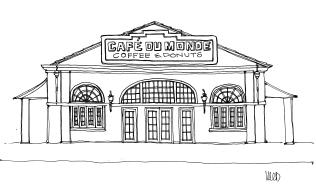 m wood new orleans cafe du monde