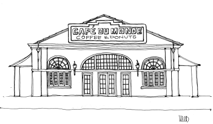 Café du Monde @mwoodpen