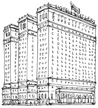 Hotel Statler Buffalo @mwoodpen