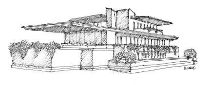 FLW Robie House @mwoodpen