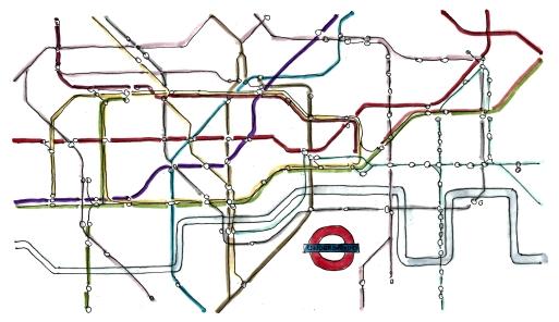 m wood london tube