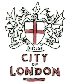 ENGLAND LONDON CITY SEAL