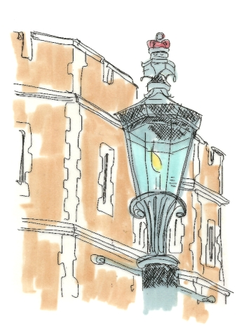ENGLAND LONDON WINDSOR LAMP