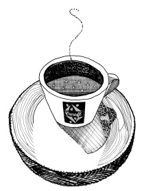 M WOOD CAFFE 1