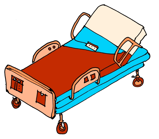 GSH *12 HOSPITAL BED