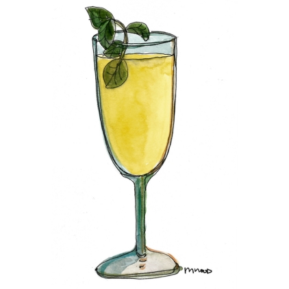 M WOOD COCKTAILS MOJITO