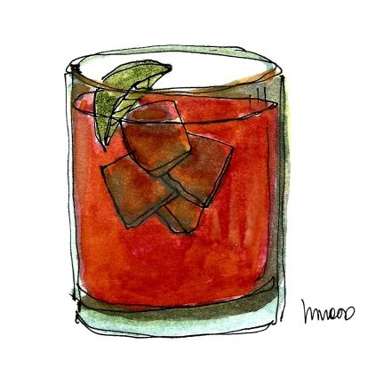 M WOOD COCKTAILS OLD FASHIONED